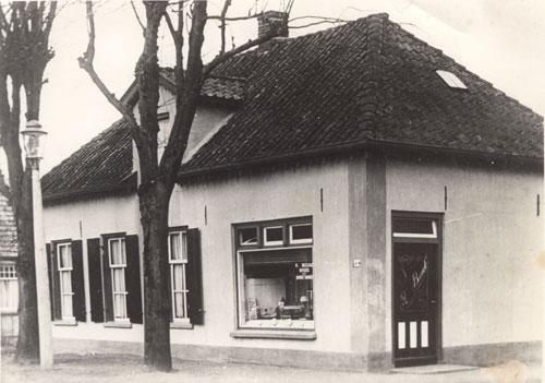 Bakkerij Becude, collectie Kees van Dijk