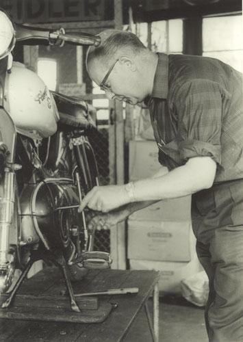 'Kreidler specialist Henk de Bie', collectie Wim de Bie.