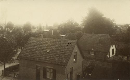 Overzicht vanaf maalderij, collectie Wim Boomgaard.