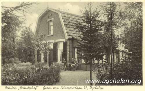 Pension 'Prinsterhof', collectie Gert Woutersen.