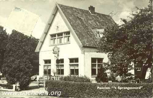 Pension Sprengenoord, collectie Gert Woutersen.