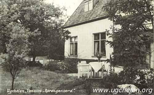 Pension Sprengenhof, collectie Gert Woutersen.