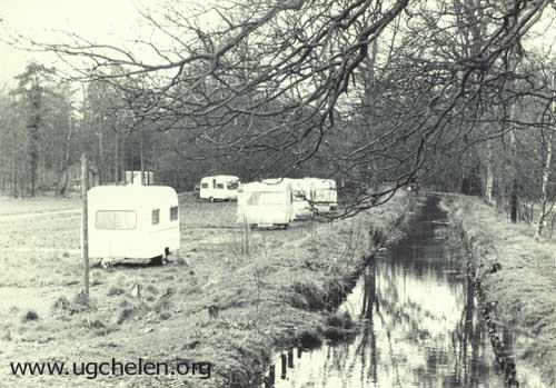 Overzicht langs De Schoolbeek, collectie Hemmie Geurts.