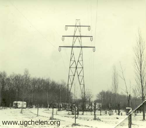 Winter op de camping, collectie Gert Woutersen.
